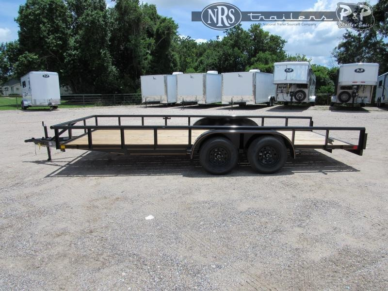 2021 P and P PPTA18X83GDSRPT 18 ' Utility Trailer
