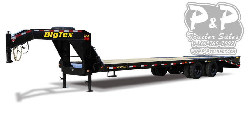 2021 Big Tex Trailers 22GN-35BK+5MR Flatbed Trailer