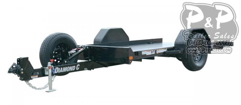 2021 Diamond C Trailers DSA Single Axle Tilt Flatbed Trailer