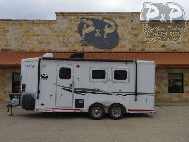 2014 Lakota Charger C211BPSE 2 Horse Slant Load Trailer LQ