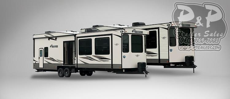 "2021 Keystone RV Residence 401LOFT 488 "" Destination Trailer RV"