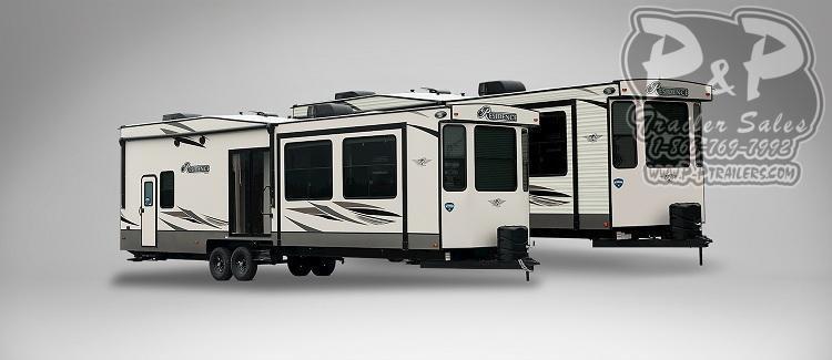 "2021 Keystone RV Residence 401LOFT 488 "" Destination Trailer RV"