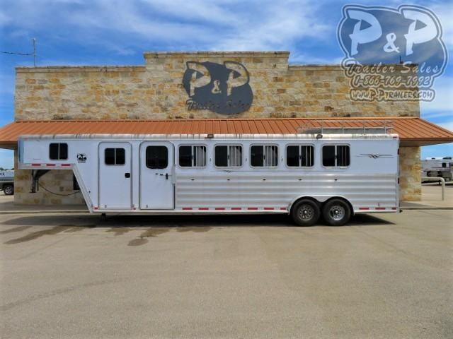 2008 Featherlite 6HGN 6 Horse Slant Load Trailer