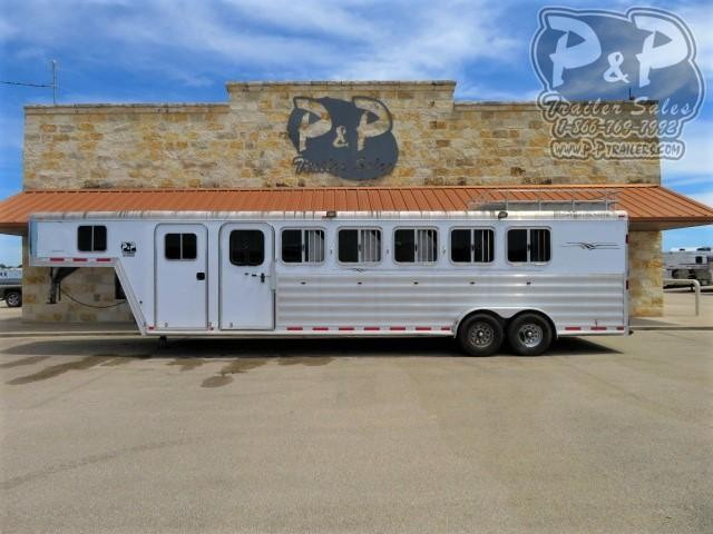 2008 Featherlite 6HGN 6 Horse Slant Load Trailer