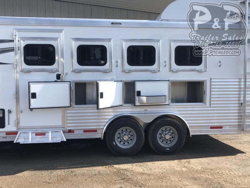 2021 Lakota Charger C8411SRNS 4 Horse Slant Load Trailer 11 FT LQ