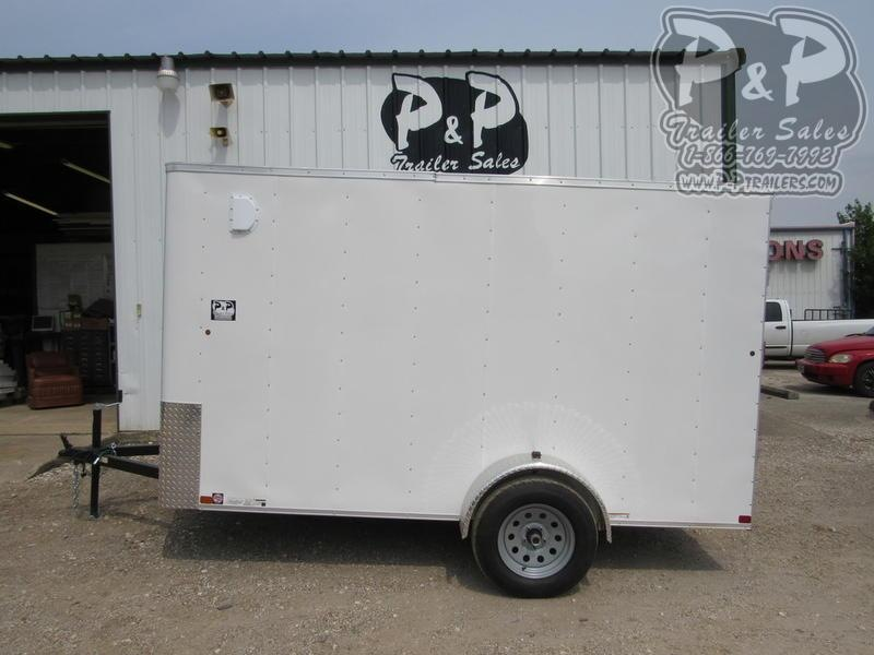 2020 Carry-On Cargo Trailers 6X12CGRBN Enclosed Cargo Trailer