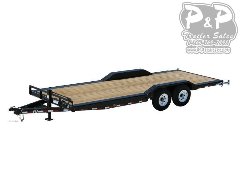 2020 PJ Trailers 6 in. Channel Super-Wide (B6) Car / Racing Trailer