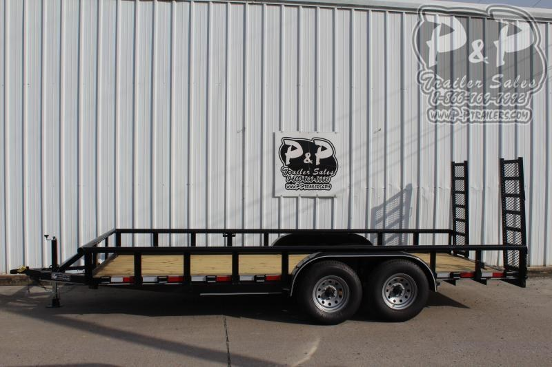 "2020 P and P PPTA18X83MDFURPT 83"" x 18 ' Utility Trailer"
