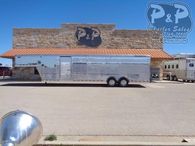 2020 Bloomer 28 ft. Stock Trailer 28 ft Livestock Trailer