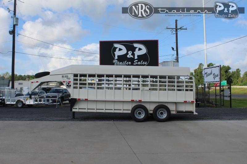 2021 Big Bend 1868DAFT 18 ' Livestock Trailer