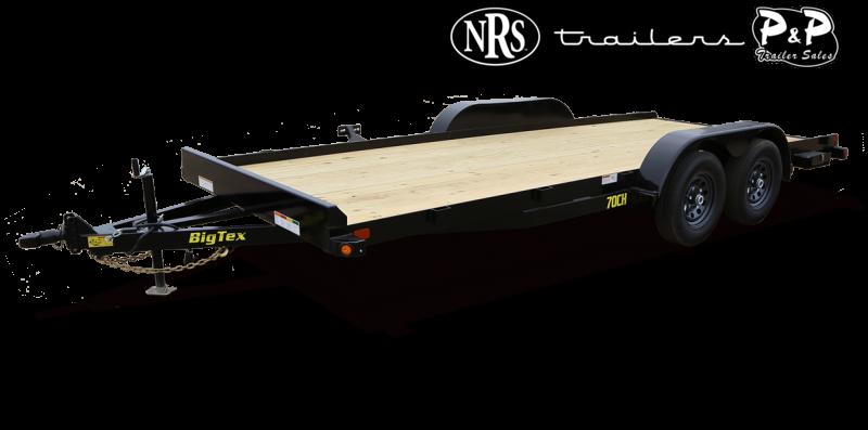 2021 Big Tex Trailers 70CH-16BK 16 ' Flatbed Trailer