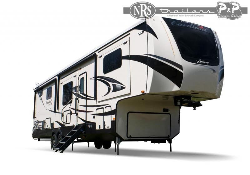 """2021 Forest River Cardinal Luxury 3456RLX 482 """" Fifth Wheel Campers RV"""