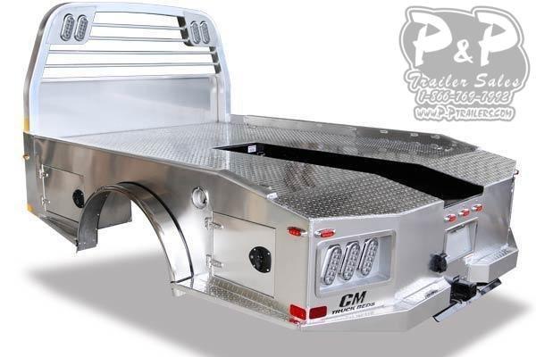 CM AL ER Aluminum Hauler Truck Bed