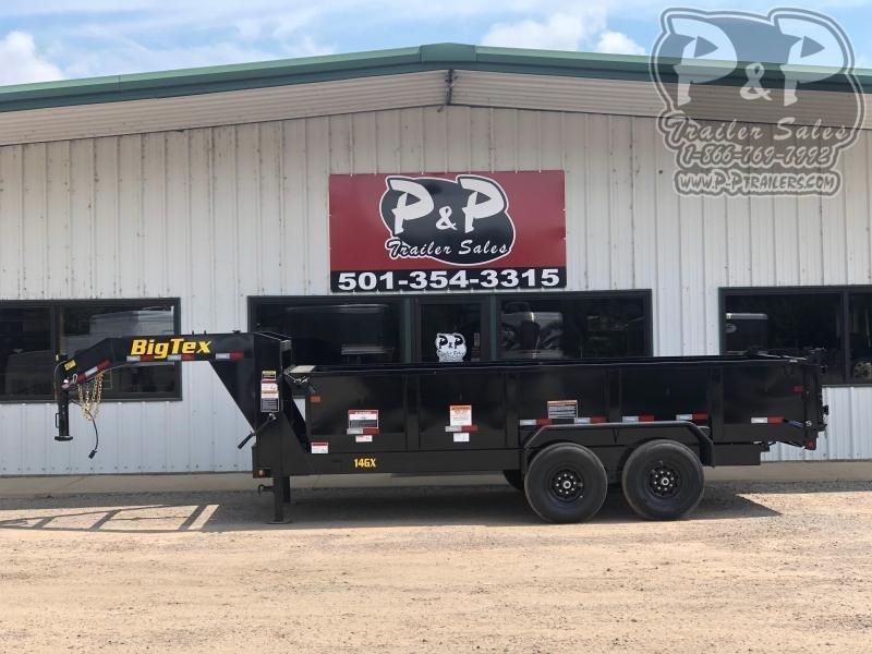 2021 Big Tex Trailers 14GX-14BK7SIRPD Dump Trailer