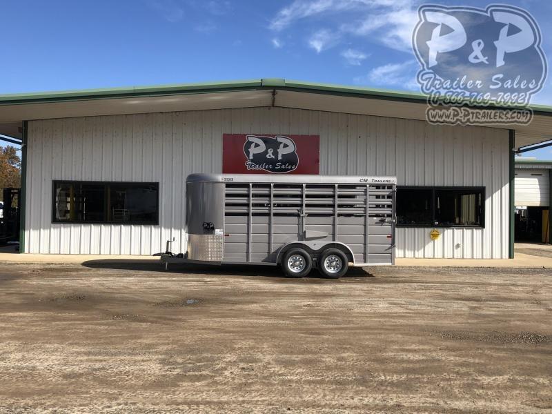 2021 CM CMS6630-1600235 Livestock Trailer
