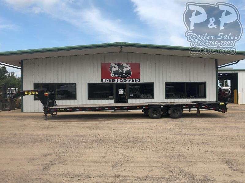 2020 Big Tex Trailers 22GN 30+5 35 ft Flatbed Trailer