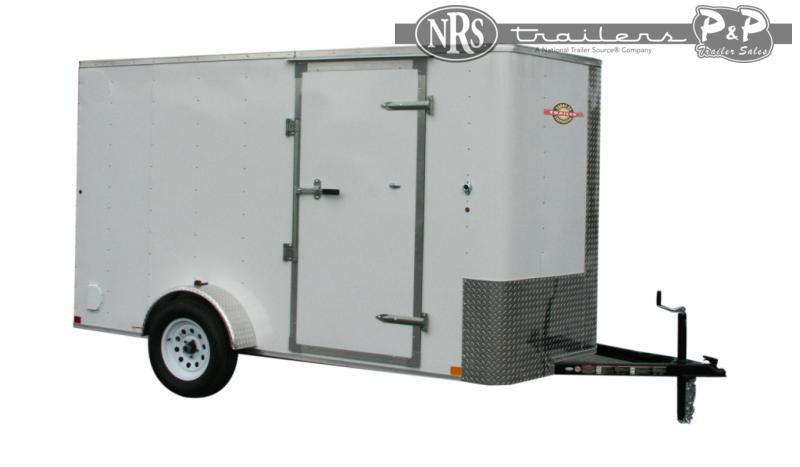 2021 Carry-On 6X12CGBN 15 ' Enclosed Cargo Trailer