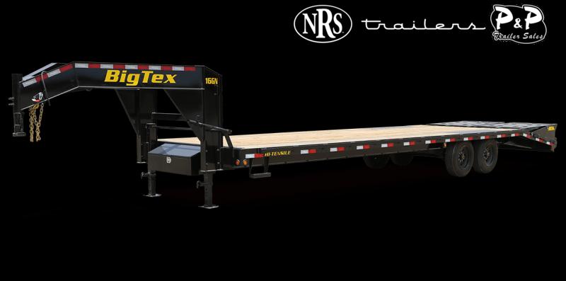 2021 Big Tex Trailers 16GN-25BK+5MR 30 ' Flatbed Trailer