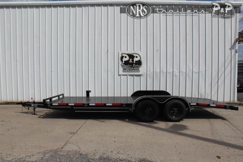 2021 P and P PPSFCH20X83GDSR 20 ' Flatbed Trailer