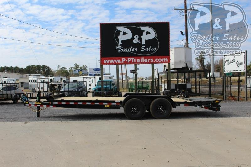 2021 Big Tex Trailers 14ET 20BK MR Flatbed Trailer