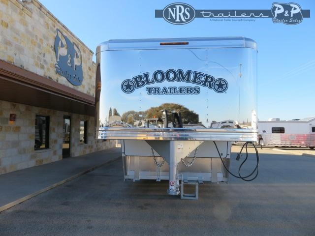 2021 Bloomer 8519PCOL PC Outlaw Conversion 5 Horse Slant Load Trailer 19 FT LQ w/ Slideout