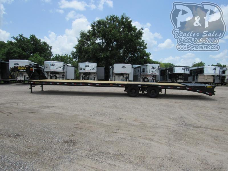 2021 Big Tex Trailers 22GN-35BK5MR Flatbed Trailer