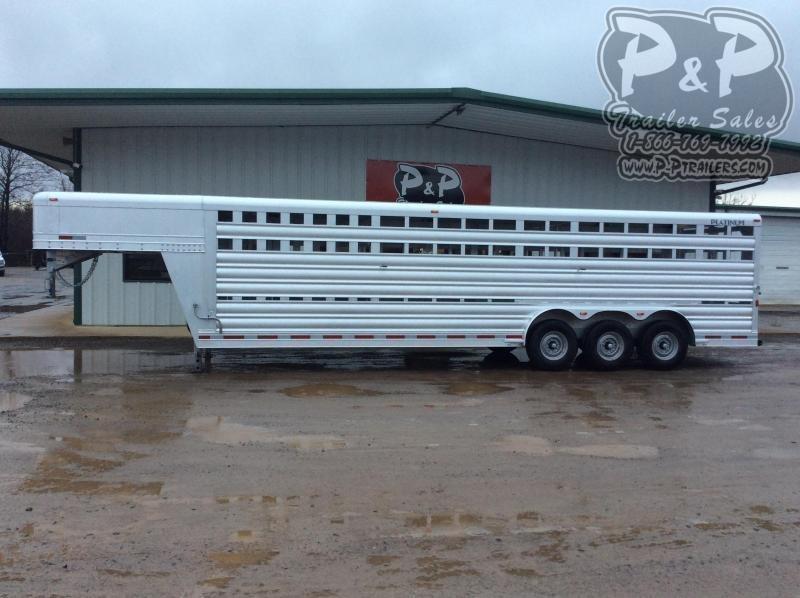 2021 Platinum Coach 828STK Livestock Trailer