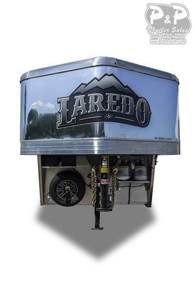 2020 Bison Trailers Laredo 8011LDRSSTLT Livestock Trailer LQ