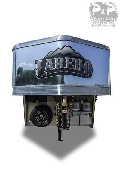 2021 Bison Trailers Laredo 8011LDRSSTLT Livestock Trailer LQ