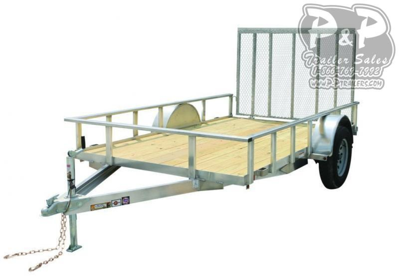 2021 Carry-On 6X10AGW Aluminum 6' x 10 ' Utility Trailer