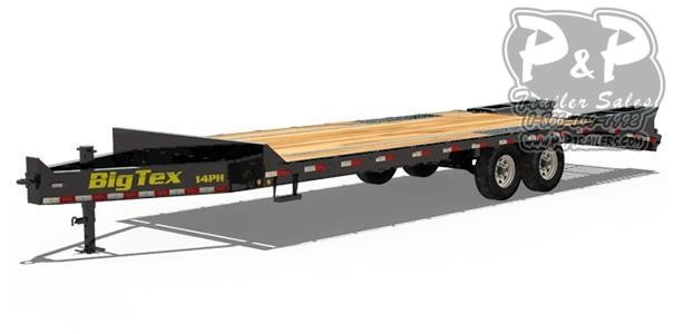 2021 Big Tex Trailers 14PH-20+5 Equipment Trailer