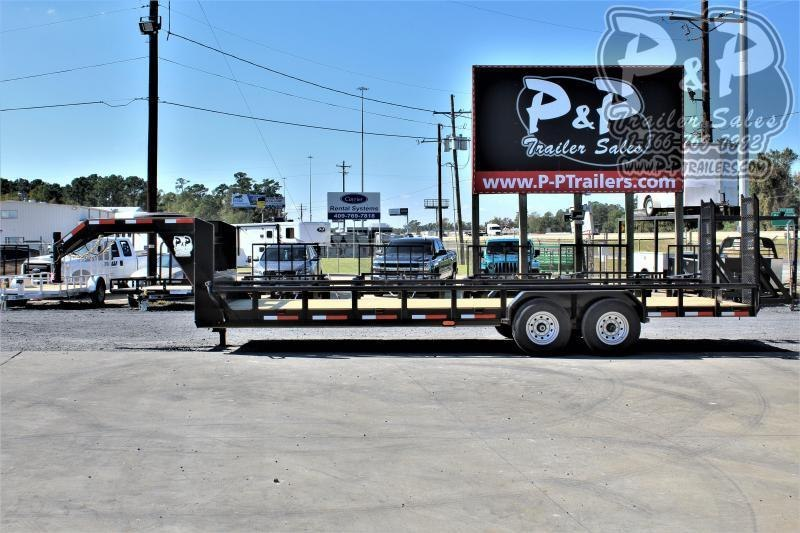 "2021 P and P PPLB24X83HDFURPT Heavy Duty Fold-Up Ramp 83"" x 24 ' Utility Trailer"