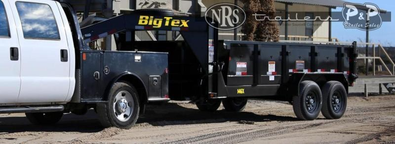 2021 Big Tex Trailers 14GX-14BK6SIRPD 14 ' Dump Trailer