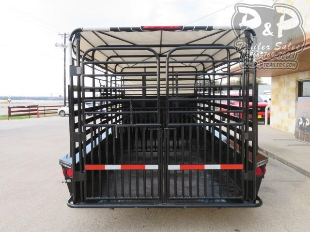 2021 W-W Trailer Roustabout 16x6.8 16 ' Livestock Trailer