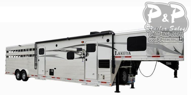 2020 Lakota Charger LE8X11SR 11ft LQ Livestock Trailer LQ