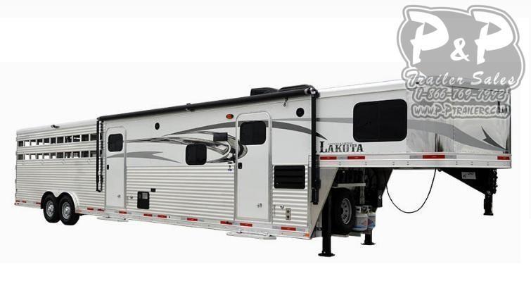 2021 Lakota Charger LE8X11SR 11ft LQ 32 ' Livestock Trailer LQ