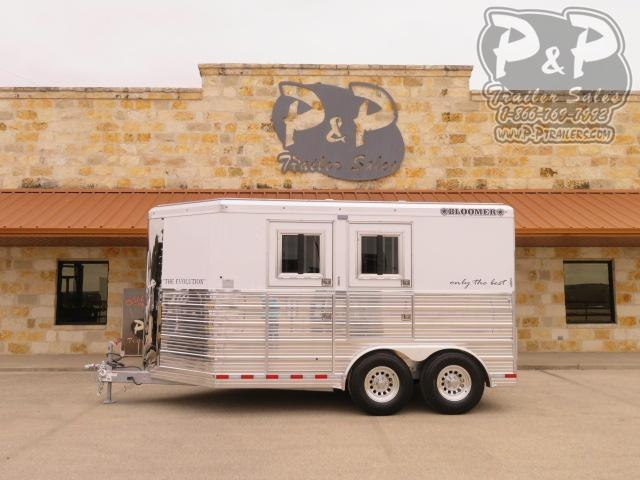 2021 Bloomer 762BP 2 Horse Slant Load Trailer