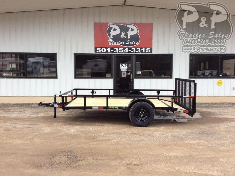 2020 Wicked Trailer Manufacturing UT7612SA 12 ' Utility Trailer
