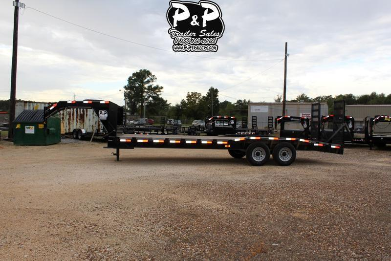 2020 P and P PPGNEQ24X102HDFURDOF 24 ft Flatbed Trailer