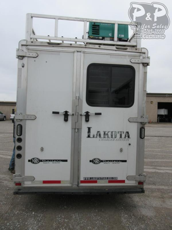 2017 Lakota Charger C311 3 Horse Slant Load Trailer 11 FT LQ