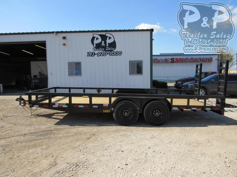 2020 Big Tex Trailers 14PI-20BK5FUR 20 ' Utility Trailer