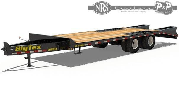 2021 Big Tex Trailers 20PH-20+5 25 ' Equipment Trailer
