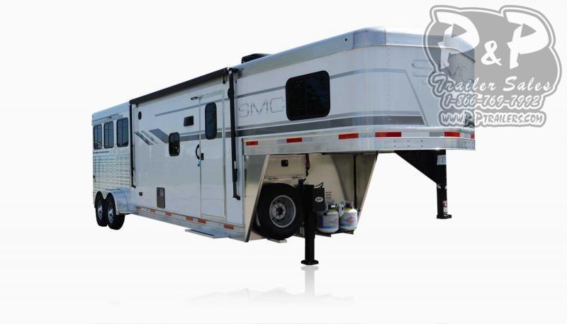 2021 SMC Horse Trailers SLX10RK LARAMIE 3 Horse Slant Load Trailer 10 FT LQ With Slides