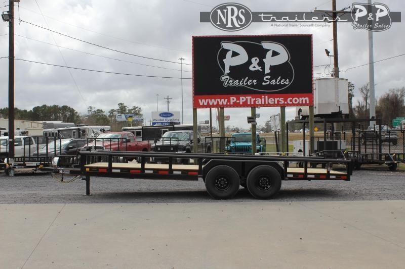 2021 P and P PPTA20X83HDSRPT 20 ' Utility Trailer