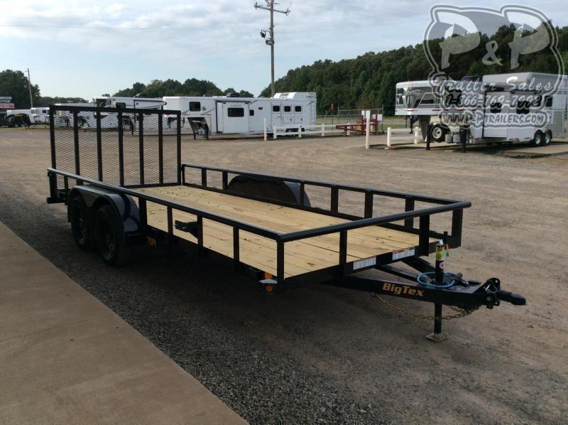2021 Big Tex Trailers 70PI-20XBK4RG 20 ' Utility Trailer
