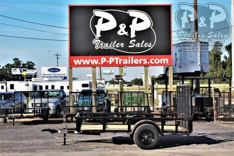2020 P and P PPSA10X77LDRGPT 10 ' Utility Trailer