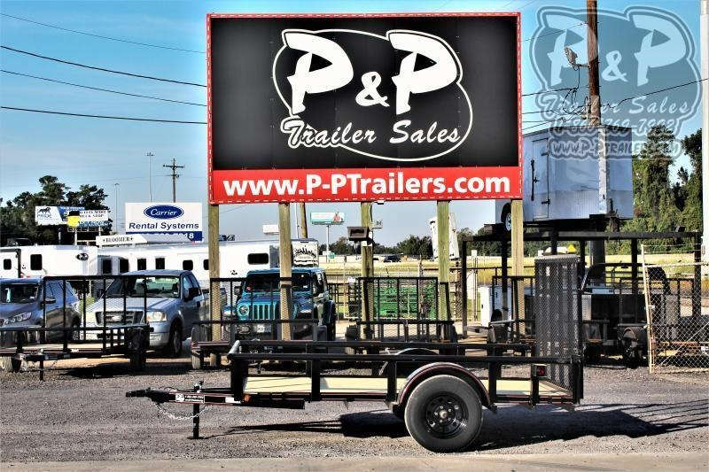 2020 P and P PPSA10X77LDRGPT 10 ' Utility Trailer