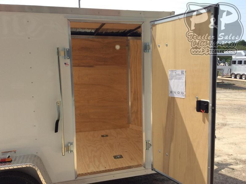 2021 RC Trailers 6X10SAFTW 10 ' Enclosed Cargo Trailer