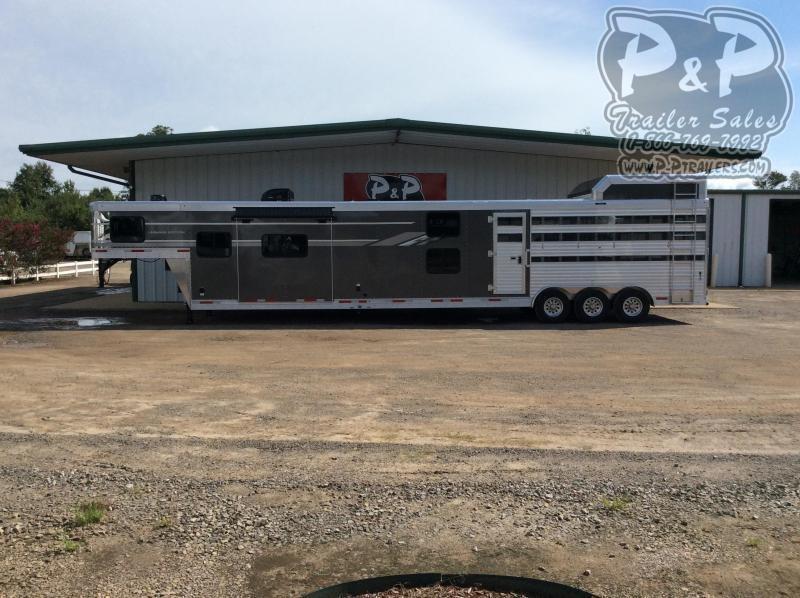 2021 SMC Horse Trailers SLE81613SSRT 16' Livestock Trailer 13'LQ