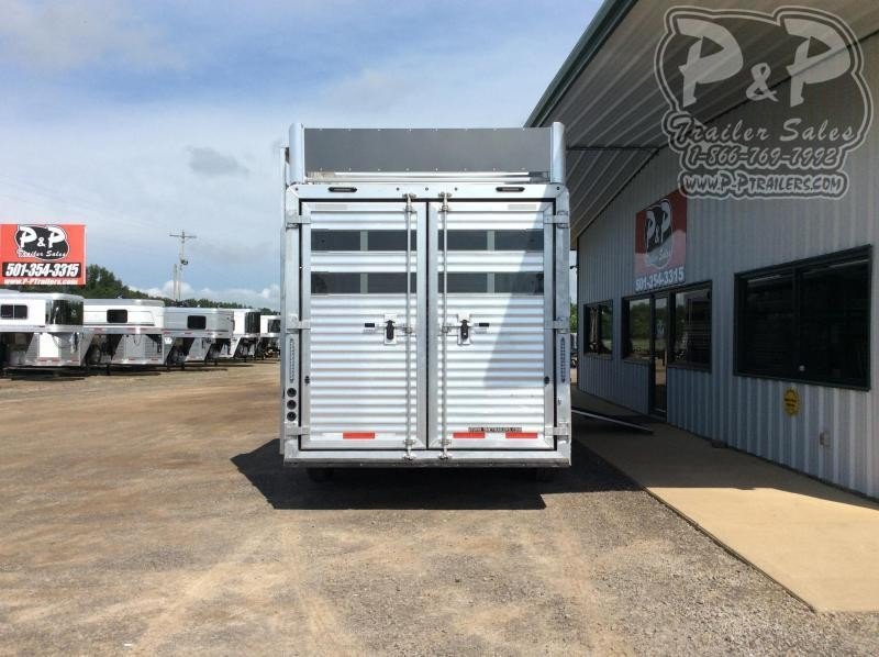 2021 SMC Horse Trailers SLE81613SSRT BB 16 ' Livestock Trailer w/13' LQ Bunk Beds in MT